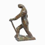 Ekla Cholo -Walk Alone in Bronze,10.5*6*15 Inches
