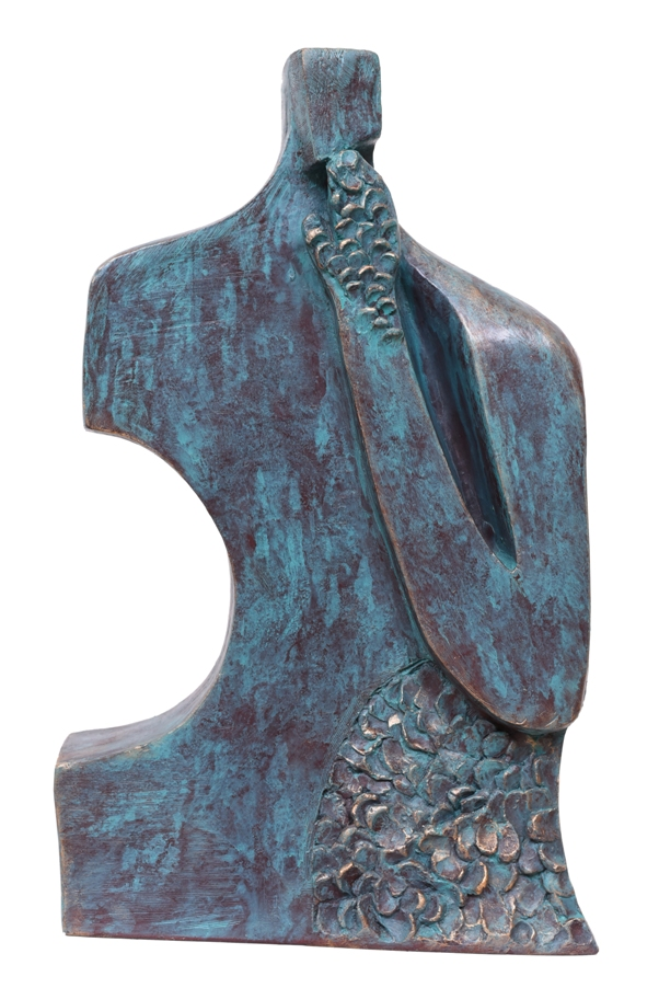 The Thinker in Fibre Glass, 13*4*21.5 Inches