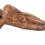 Reposer (Rest) in Bronze, 14*7.5*4 Inches