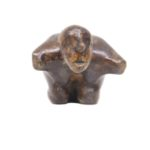 The Challenge in Bronze, 3.5*7.5*3 Inches