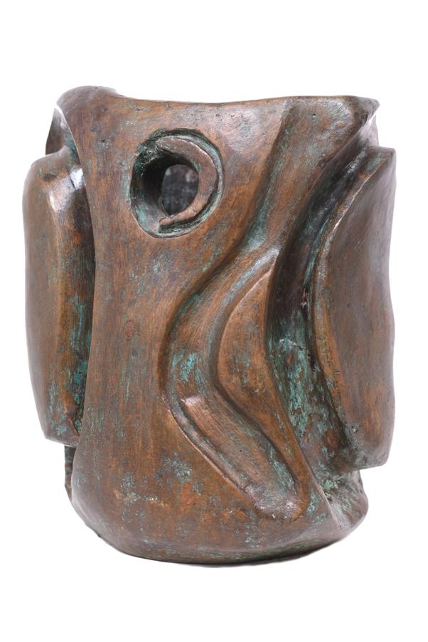 The Ganesha Vase in Bronze, 8*8*10 Inches