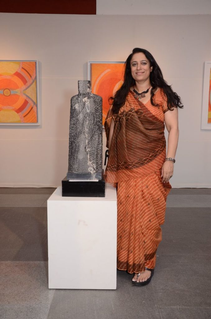At the India Habitat Centre Gallery