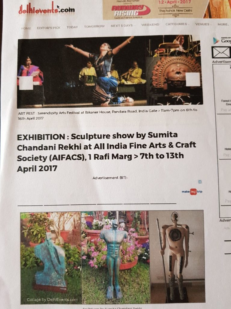 Delhi Events AIFACS Coverage